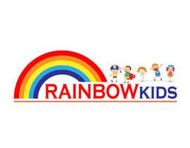 #63 for Logo design for rainbowkids by riadrudro8