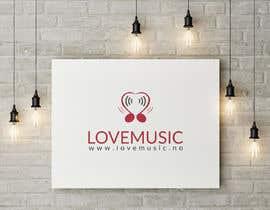 Nro 104 kilpailuun Logo for LoveMusic käyttäjältä hightechvalley