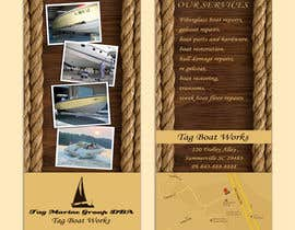 #22 for Graphic Design for Tag Marine Group DBA Tag Boat Works af Doubletstudio
