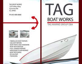 #20 para Graphic Design for Tag Marine Group DBA Tag Boat Works por LemurCatta