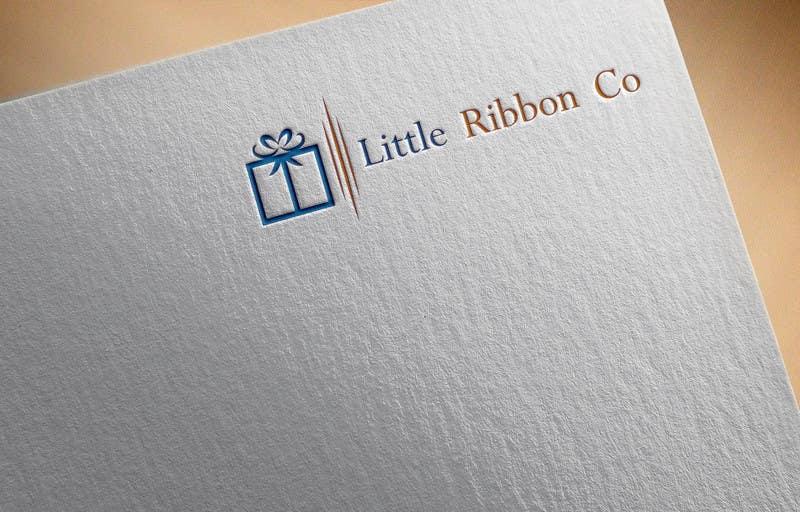 Proposition n°170 du concours Design a Logo- Little Ribbon Co.