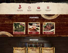 #59 for Western / Rustic Style Website Design & Subpage by Oskars89