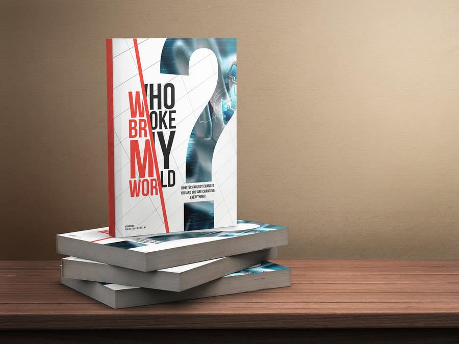 Proposition n°11 du concours Book Cover designed for Who Broke My World