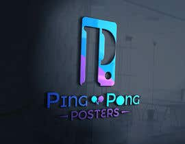 #155 for Logo for posters ecommerce by zalamichentoufi