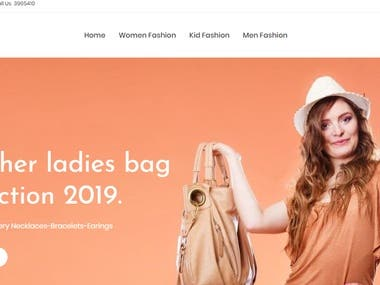 E-commerce Shopify website build in WordPress customize theme as per user requirements with interactive layouts and graphic designing.