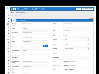 Task Management System is one of the biggest and most popular products of Aarvi Technology. Task Management System is perfect for any organization for managing all operations of your business  Our Task Management System is divided in two parts. One part is Admin panel which is manage by high authority of company and 2nd is employee part which is accessible by all employee in which they manage their own stuff.   Module 1)Informative Dashboard 2)Lead Management 3)Projects Management 4)Manage Tasks 5)Testing Management 6)Employee Management 7)Meetings 8)Manage Clients 9)Manage Contacts 10)Resource Management 11)HR Module 12)Finance 13)Document Management 14)Reports   For Demo Login :-  https://www.aarvitechnology.com/Task-Management-System/