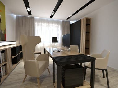 A couple of renders for interior design projects that i have worked on.