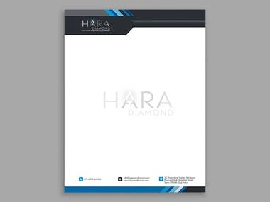 Hara Diamond, one of the leading suppliers, exporter, and wholesaler of Lab-Grown / Synthetic polished Diamonds. Hara Diamond came to us for the development of a website and full branding. We develop an informative website, Logo, Business Card and Letterhead for them. The client is very happy with our expertise.