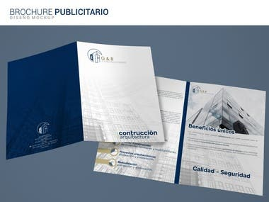 Construction Company Brochure Design