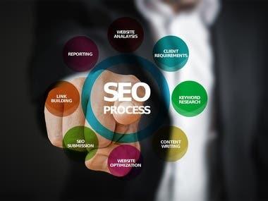 HI, I am specialized in Search Engine Optimization, social media marketing, Google Ranking, Keyword Research, Keyword Analysis, Meta Tags (keywords, title, desc) Optimization, Tags Optimization, Google Analytics, webmaster tool.