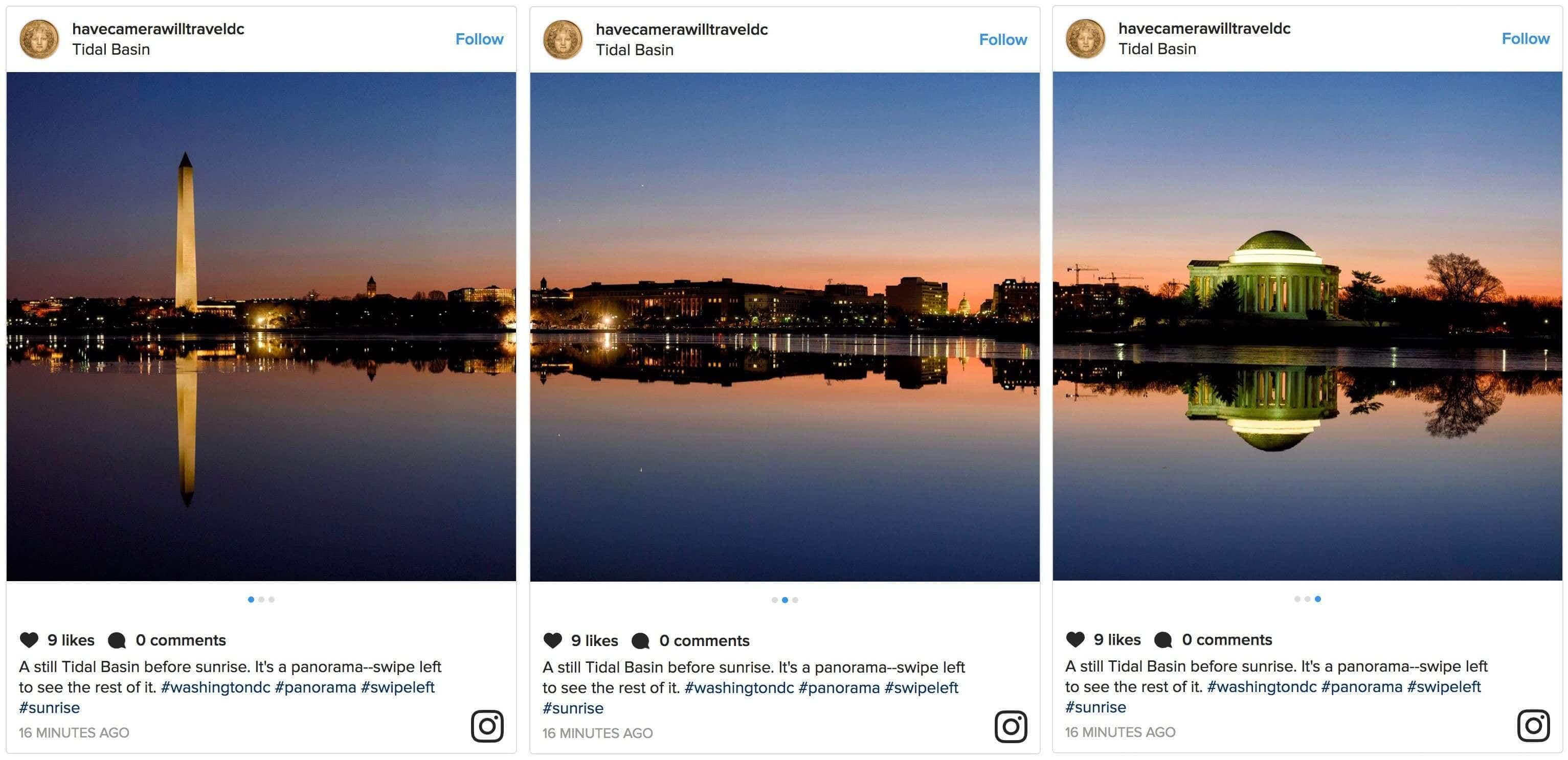 instagram panorama example