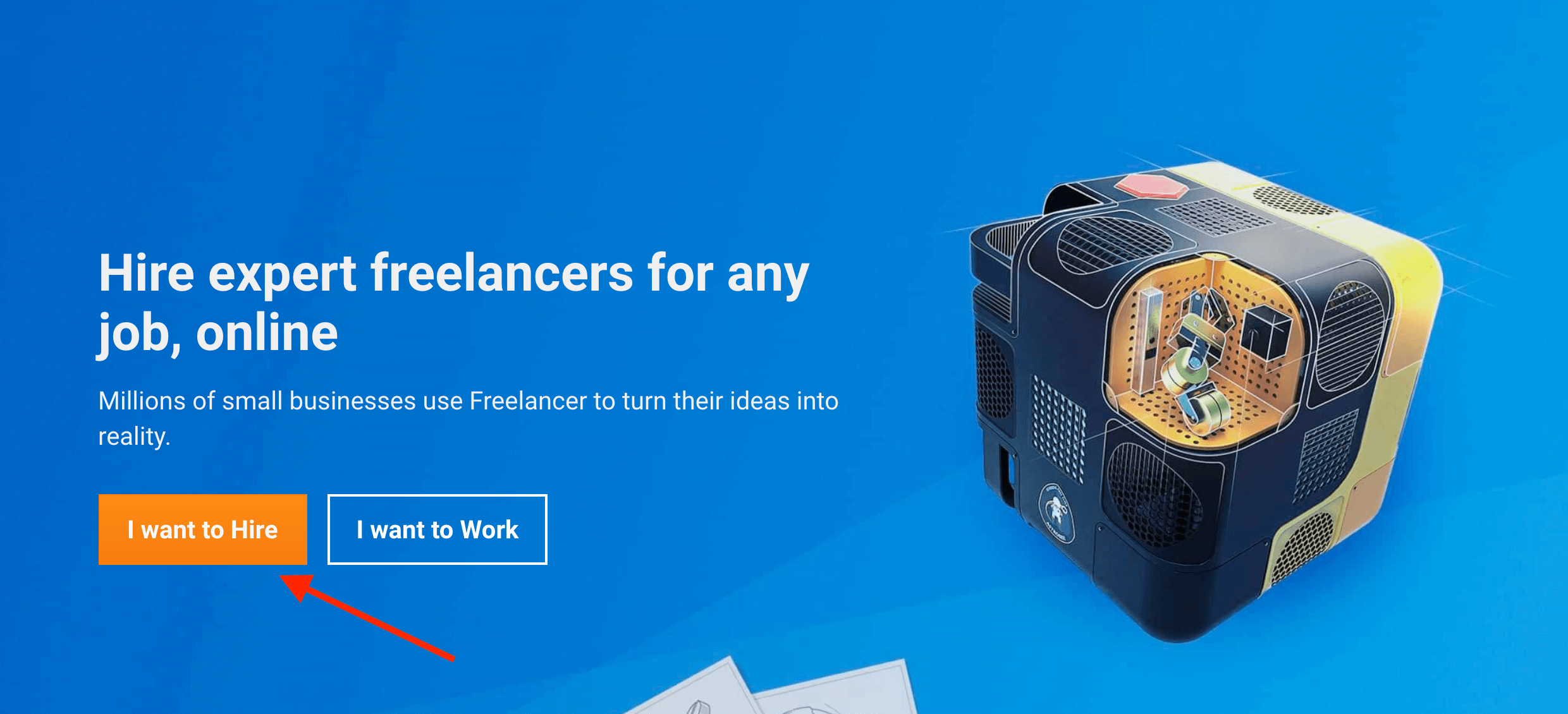 freelancer post a project