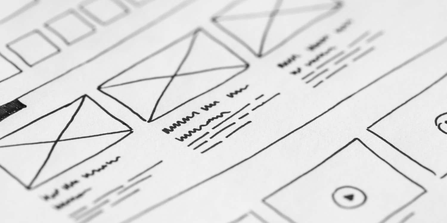Cover photo for How to wireframe a website with Figma
