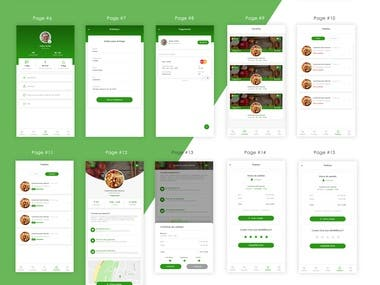 Hi, i have Design Logo, App and Website Branding for this food App. thank you