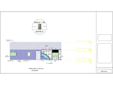this is designing of house with attic including all plans from architectural , structural drawings also mechanical plans and Electrical plans