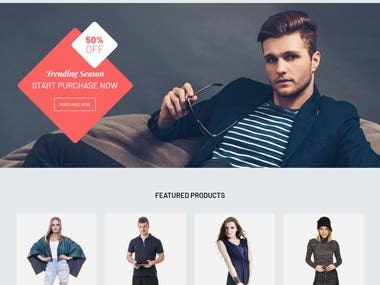 A fully responsive and professional eCommerce store for your growing business
