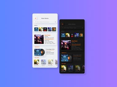 Hello everyone, here I bring a new project about a desktop application based on a search engine, in this case everything related to rock bands and musicians. The client was very specific when indicating the style that he wanted in his app the Neumorphism style (Neumorphism) which is a style that is trending in 2020.
