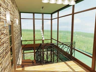 Exemplary work of Interior Design