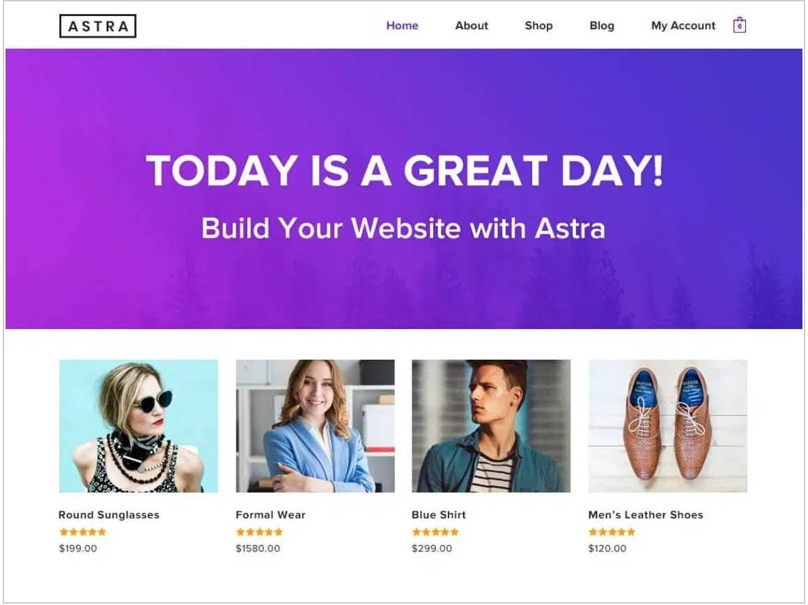 astra free wordpress theme