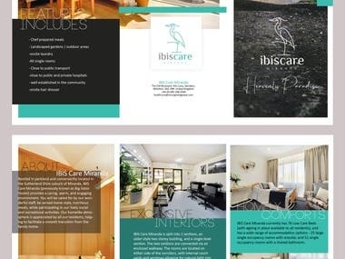 Brochure design - more on request