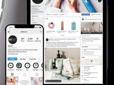 Social Media Management (Facebook, Instagram and LinkedIn)