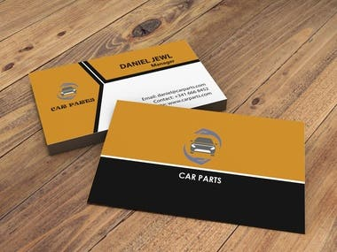 I will design Professional business card and mock up design.