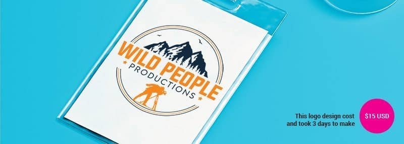 small business logos wild people productions