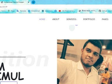 This my personal website.