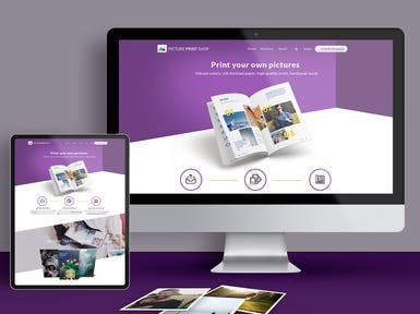 Website for Picture Print Shop