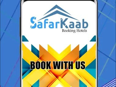 The App is available for Android and iOS users. It's for the purpose of Bus and Hotel booking. This is a Multi-vendor application.  Has a backend web Admin-panel to manage services and bookings.   Link of website: https://safarkaab.com/  Link of App: https://play.google.com/store/apps/details?id=com.phonegap.safarkaabHotelBusBook