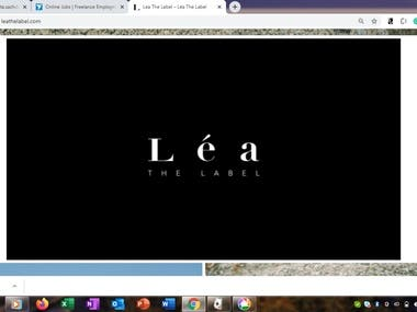 This is an E-Commerce website to list products along with its images, prize, size and description. It is also available with menu to classify products in their respective category. Necessary e-commerce features like cart, checkout, discounts, billing along with payment gateway, are available on this website.  Link: https://leathelabel.com/