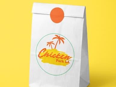 Chicken Park LA | Food Truck Logo