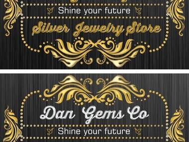logo design for a jewellery showroom