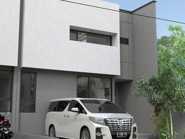 House type 63/98 This house has a building area of ​​126m2 and a land area of ​​98m2