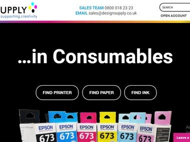 Design Supply Est.1992. The UK leading supplier of large format printers, wide scanners and plotters, media, and large format paper.