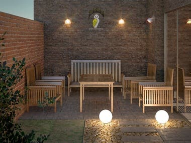 Villa Landscape design