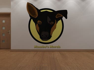 Dog Shelter Company logo design