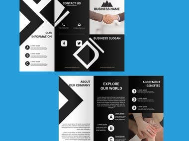 Brochure design, Business Brochure design, Professional Brochure design