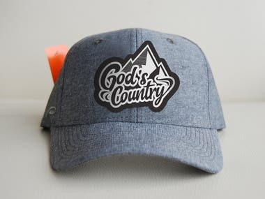 patch design on a hat