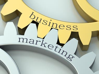 Business and marketing.