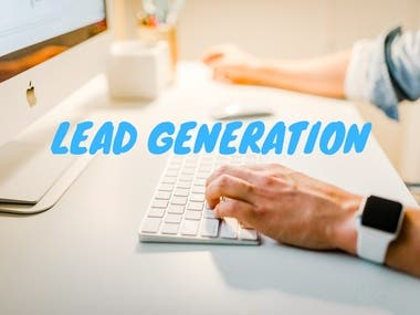 Lead generation is the modern way to increase your sales. You can return on your investment by knocking your targeted clients.