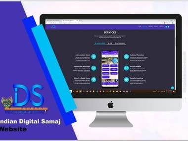 This is the website of Indian Digital samaj
