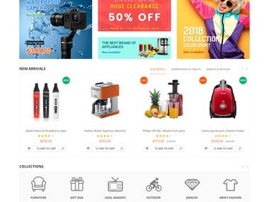 Criação de loja virtual pela agência Paranhos