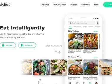 Cooklist introduces an entirely new way to think about your relationship with cooking and grocery shopping. It connects to your grocery store loyalty cards and automatically downloads all of your purchases into a digital pantry.  I was working as a lead developer on CookList MVP and implemented React Native application and Django GraphQL back-end.