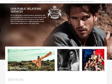 This is the website for Divadubai