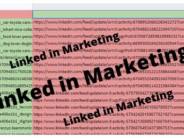   LinkedIn marketing   Business leads   LinkedIn leads   B2B marketing      What will you get in this service? Potential lead generations Maintenance of your account New connections development  Increased Traffic by LinkedIn marketing Marketing and Real Connections Targeted growth of your business leads   Why will you choose this gig? On-time delivery 100% satisfaction guarantee No fake bot accounts Manually marketing.