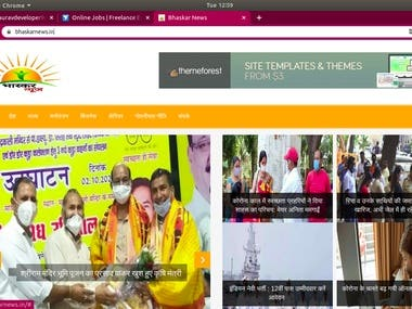 Bhaskar news is indian news portal in which u can read all indian news in hindi. http://www.bhaskarnews.in/