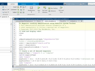 I will do matlab coding and simulation