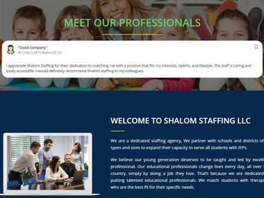 They provide Special Education Services for K-12 Schools kids. We are a cost-efficient Staffing agency and we can provide the best employees and staff at an affordable cost. In the USA