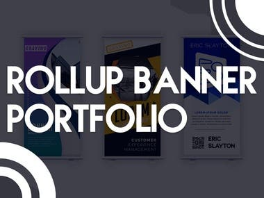 Roll-up banners are a great space-saving solution for event marketing, and Codevely Studio can offer you high-quality roller banner printing at market-leading prices.